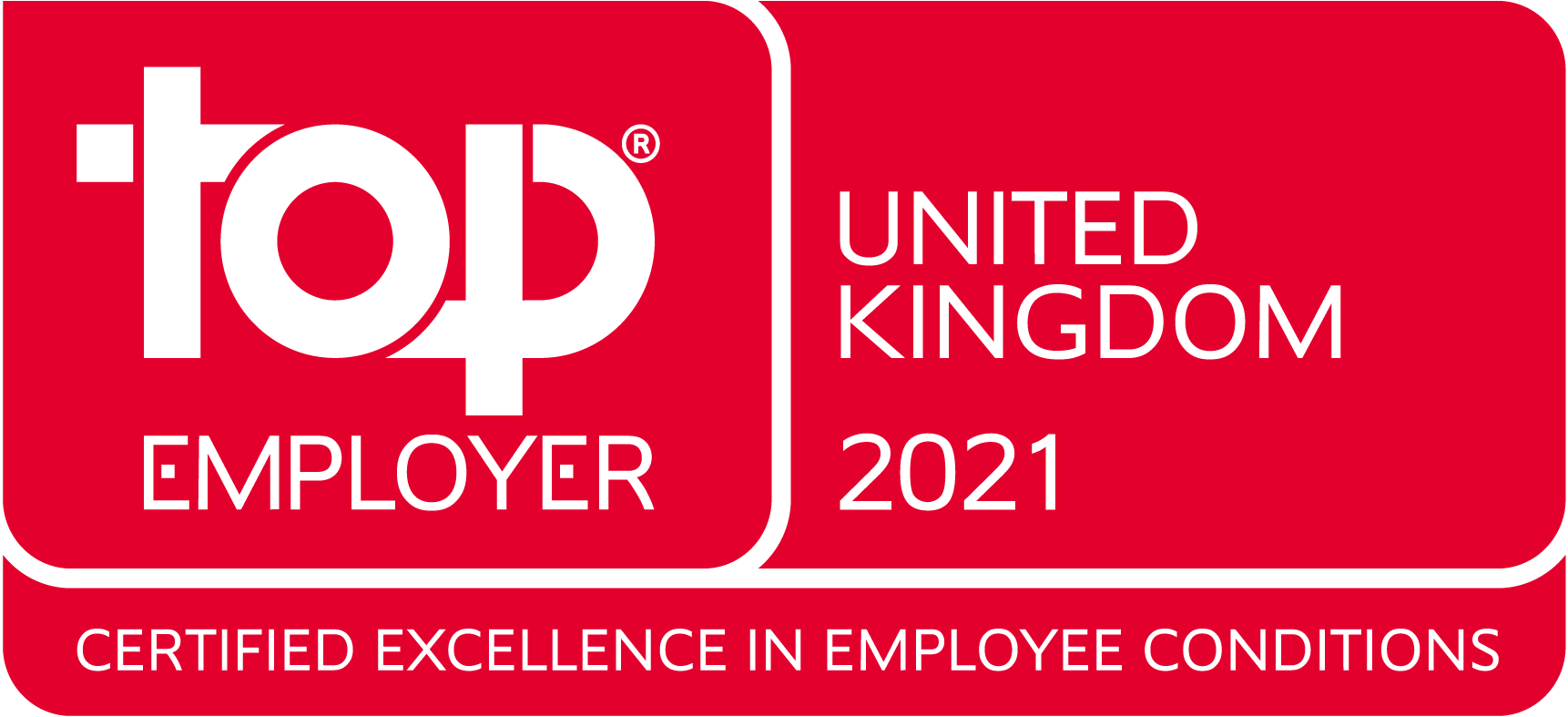 Top Employer 2021 United Kingdom