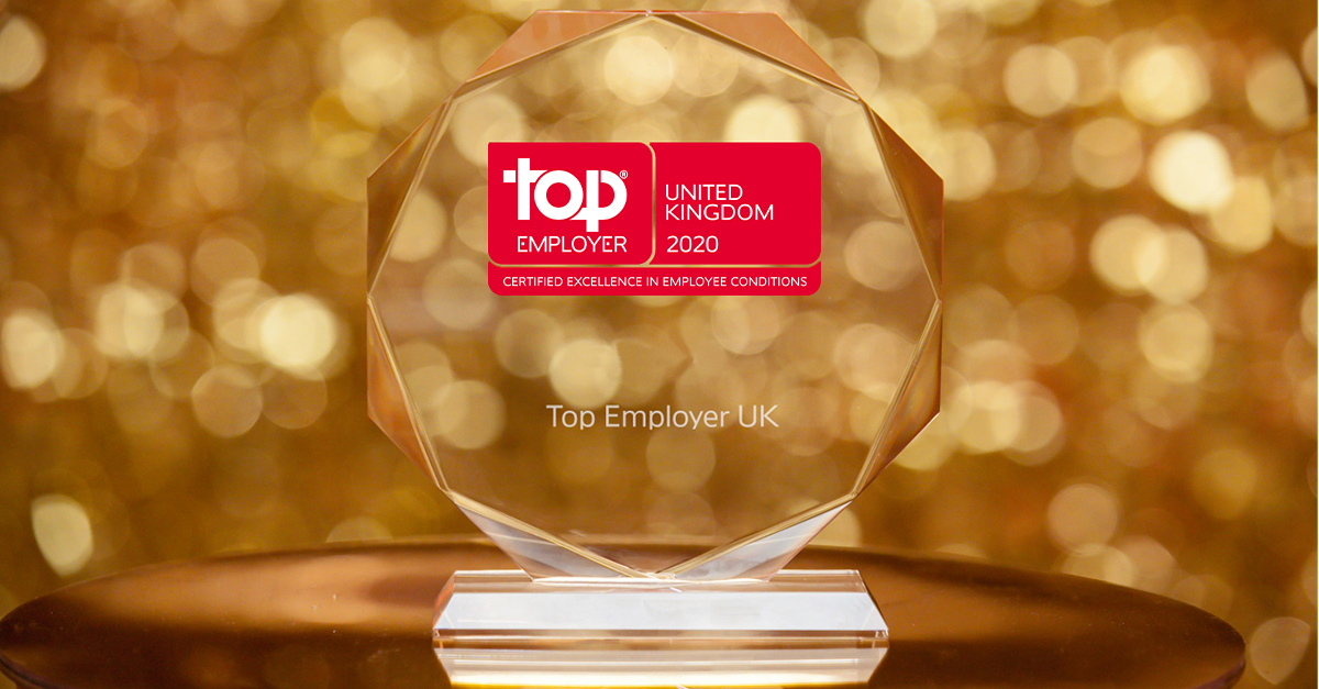 Top Employer UK 2020 Award
